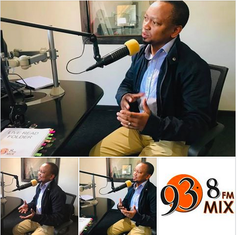 Shakes interview on Mix 93.8